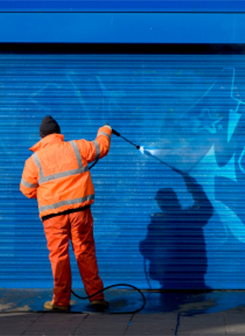 Cleaning Up - Vandalism